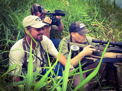 We've been featured on the pursuit channel for florida alligator hunts.